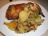 Receta de pechuga de pollo al horno con patatas