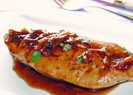 Receta de pechugas de pollo al horno agridulce