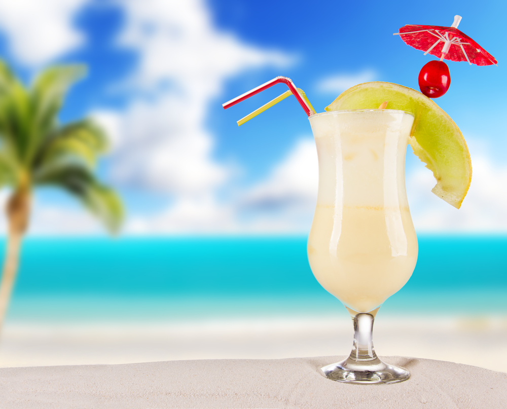 Tropical island beach drinks the image for Cocktail florida
