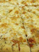 Receta de pizza de ajo
