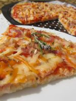 Receta de pizza de arroz