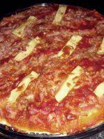 Receta de pizza de jamón y bacon