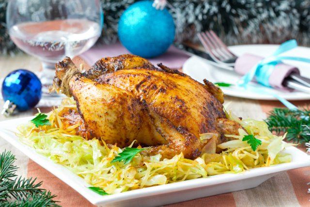 Receta de pollo relleno de carne picada