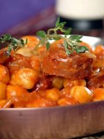 Receta de potaje de garbanzos con chorizo