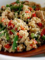 Receta de quinoa con atún