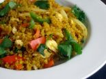 Receta de quinoa con curry