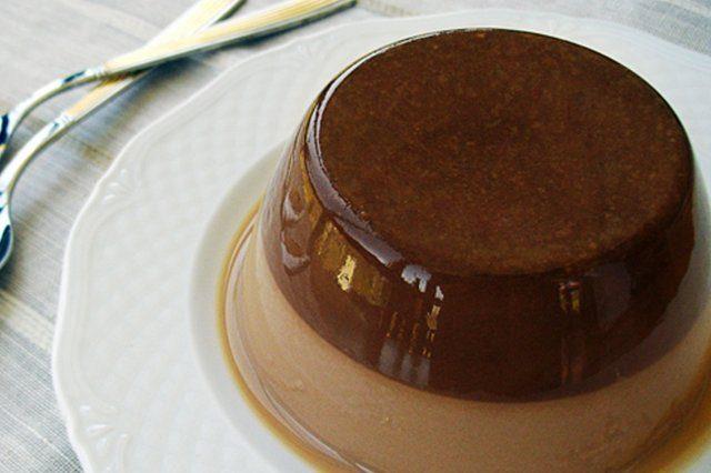 Receta de flan de huevo con chocolate - Como se hace el flan de huevo al bano maria ...