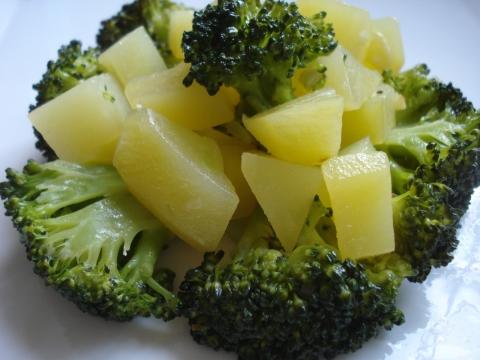 Receta de Brocoli con patatas