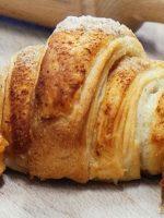 Receta de croissant de espelta