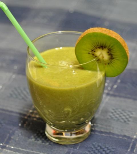 Receta de smoothie de kiwi