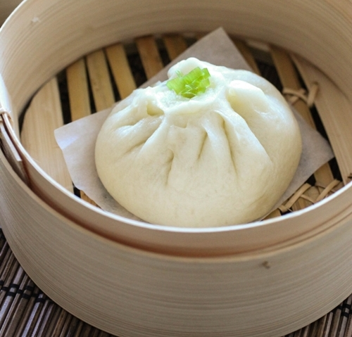 Receta de pan chino relleno