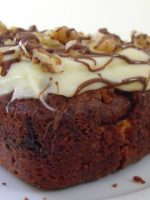 Receta de pastel de zanahoria y chocolate