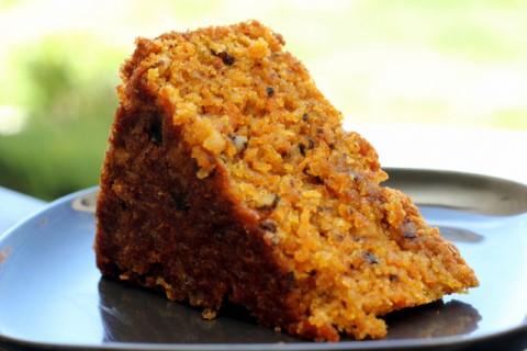 Receta de pastel de zanahoria y nueces