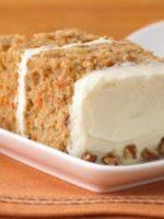 Receta de pastel de zanahoria y piña