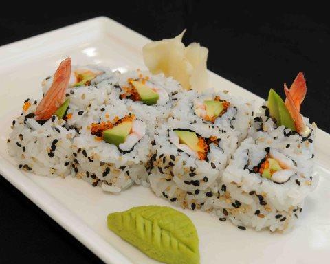 Receta de sushi uramaki