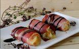 Receta de rollitos de yuca con jamón