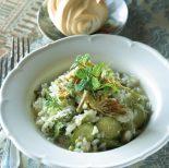 Receta de arroz blanco con verduras