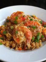 Receta de arroz con bogavante y gambas