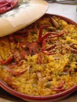 Receta de arroz con bogavante y nécoras