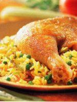 Arroz con pollo peruano