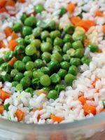 Receta de arroz tres delicias microondas