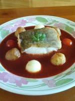 Receta de bacalao a la vizcaína con patatas