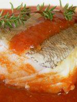 Receta de bacalao a la vizcaína con vino blanco