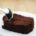 Receta de bizcocho de chocolate Dukan