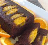 Receta de bizcocho de chocolate y naranja