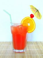 Receta de bloody mary con naranja