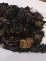 Receta de calamares en su tinta con arroz