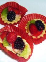 Canapés de fruta