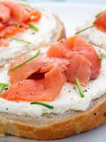 Receta de canapés de salmon