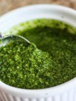 Receta de chimichurri de cilantro