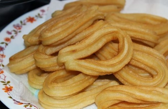 Receta de churros thermomix