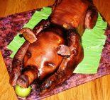 Receta de cochinillo al horno con manzanas