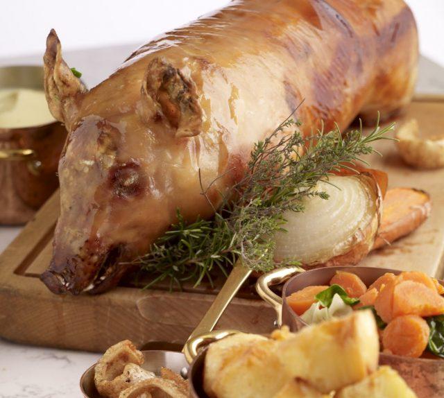 Receta de cochinillo al horno con patatas