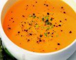 Receta de crema de calabaza y zanahoria