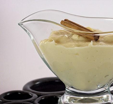 Receta de crema pastelera con huevo