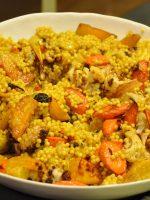 Receta de cuscús marroquí