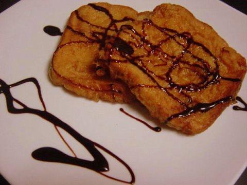 Receta de torrijas con chocolate