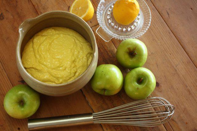 Receta de alioli de manzana