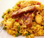 Receta de arroz al horno con costilla