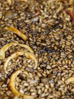 Receta de arroz negro con calamares