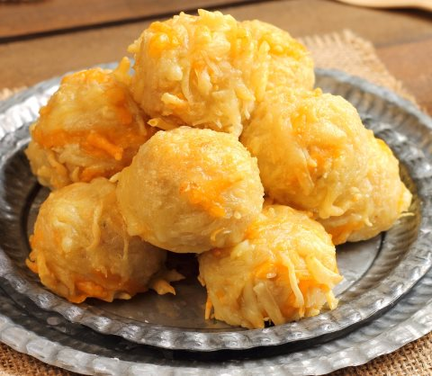 Receta de buñuelos de patata