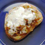 Receta de cebolla caramelizada con queso de cabra