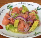 Receta de ceviche de salmón
