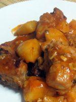 Receta de conejo al ajillo con salsa