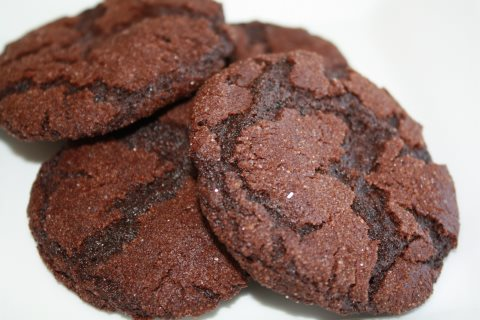 Receta de cookies con chocolate