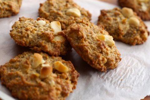 Receta de cookies con nueces
